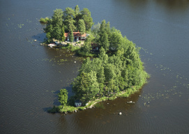 Storsjön i Gästrikland  Nr. 2011_3524