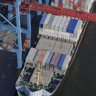 Containerhamnen i Göteborg  Nr. 3485_4977