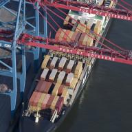 Containerhamnen i Göteborg  Nr. 3485_4979