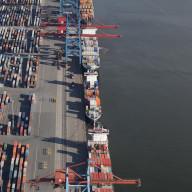 Containerhamnen i Göteborg  Nr. 3485_4907
