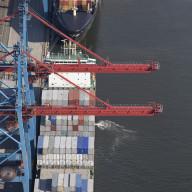 Containerhamnen i Göteborg  Nr. 3485_4913