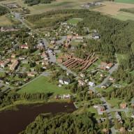 Lövångers kyrkby i Västerbotten  Nr. 0424_00312