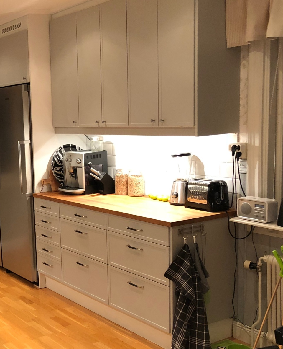 Design W24 i Easy Grey (inskickad kundbild). Klicka för att se hela bilden.