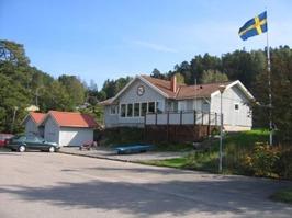 Viken Ägirs klubbstuga på Lindesnäs