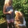 flicka hund