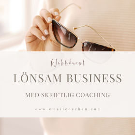 Lönsam business - med skriftlig coaching