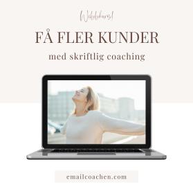Få fler kunder - med skriftlig coaching