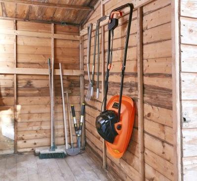 Luftkuddegräsklippare används av golfbaneskötare. Prova en du också.