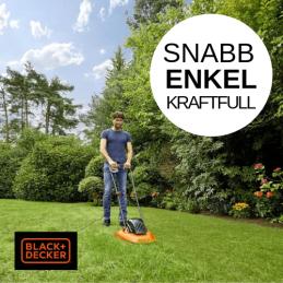 Black & Decker Luftkuddegräsklippare gräsklippare