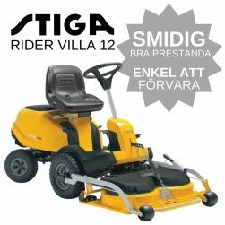 Stiga Rider Villa 12 Åkgräsklippare hos Granngården