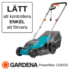 Gardena Elektrisk gräsklippare PowerMAx 100/32