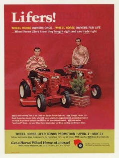 Wheel Horse Lawn mowers