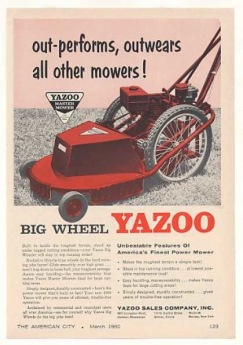 Yazoo lawn mowers