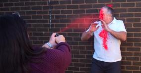 NORGE: Selvforsvar spray - Tilbud 98 kr