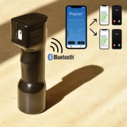 Plegio SMART | Försvarsspray som larmar med GPS-position (siren & blixtljus)