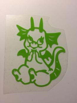 Grön drake
