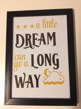 Poster a little dream