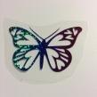 Fjäril 2 - Regnbågsfärg