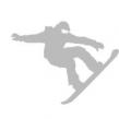 Reflexer - Snowboardåkare