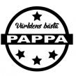 Världens bästa - Pappa