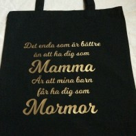 Tygkasse Mamma 2