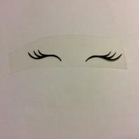 Ögonfransar små
