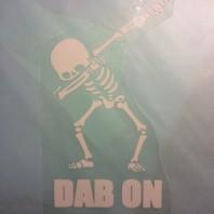 Dab on