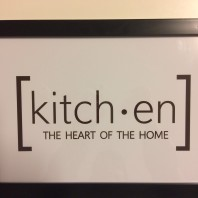 Poster kitchen