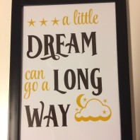 Poster a little dream