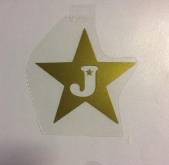 Stjärna med bokstav 2