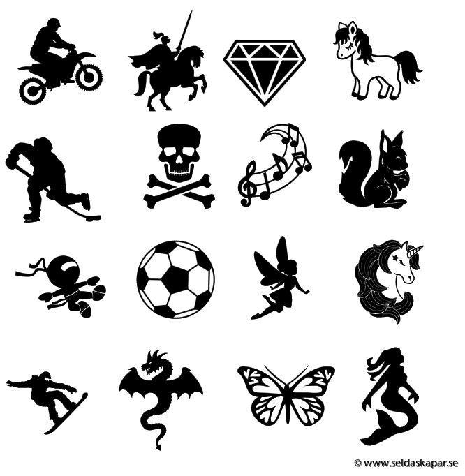 symboler till väska
