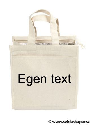 lunchväska egen text