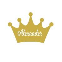 Krona med namn