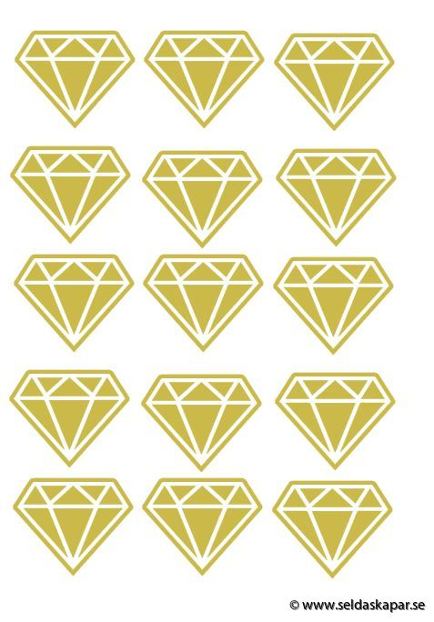 väggvinyl diamant a4