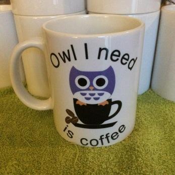 Owl I need is coffee