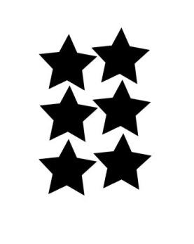 A4 stjärnor 10 cm