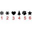Symboler till julgranskulor