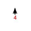 Symboler till julgranskulor - Gran grön