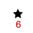 Symboler till julgranskulor - Stjärna gul