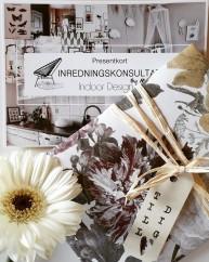Presentkort -Inrednings konsultation
