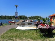 Turbåtsbryggan ute i skärgården