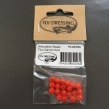 Articulation Beads - FL. Salmon Red