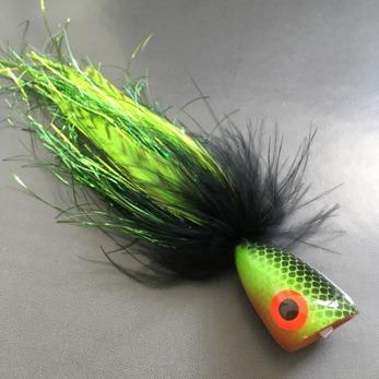 #ifly Popper Green Perch -