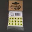 Epoxy eyes - 9mm - FL. Yellow
