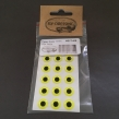 Epoxy eyes - 11mm - FL. Yellow