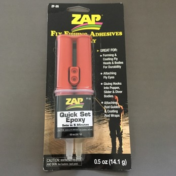 Zap Quick Set Epoxy 5 min 0.5oz -