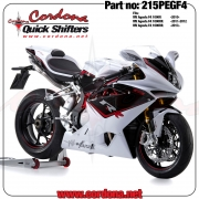 215PEGF4 - Cordona PQ8 Peg Version Quickshifter MV Agusta F4 1000 2010-