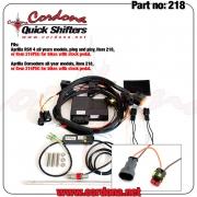218 - PQ8 Combo Quickshifter Aprilia RSV 4 / Dorsoduro