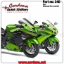 240 - PQ8 combo with pedal, fits Kawasaki ZX14 & ZZR - 240 - PQ8 combo with pedal, fits Kawasaki ZX14 & ZZR