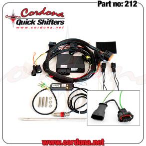 212 - PQ8 Combo Quickshifter Ducatimodel 749-1198 - 212 - PQ8 Combo Ducati 749-1198